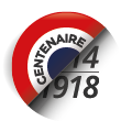 Logo mission centenaire 14-18 | Fleurs d'Armes - Une exposition artisitique itinérante | www.fleursdarmes.ca