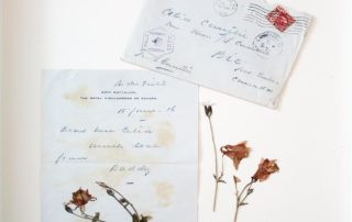 Soif de victoire - lettre | Fleurs d'Armes - Une exposition artisitique itinérante | www.fleursdarmes.ca
