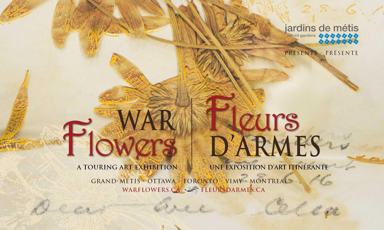 Fleurs d'Armes - Une exposition artisitique itinérante | www.fleursdarmes.ca