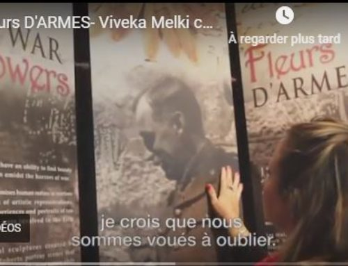War Flowers exhibit evokes emotional impact of WWI (En anglais)